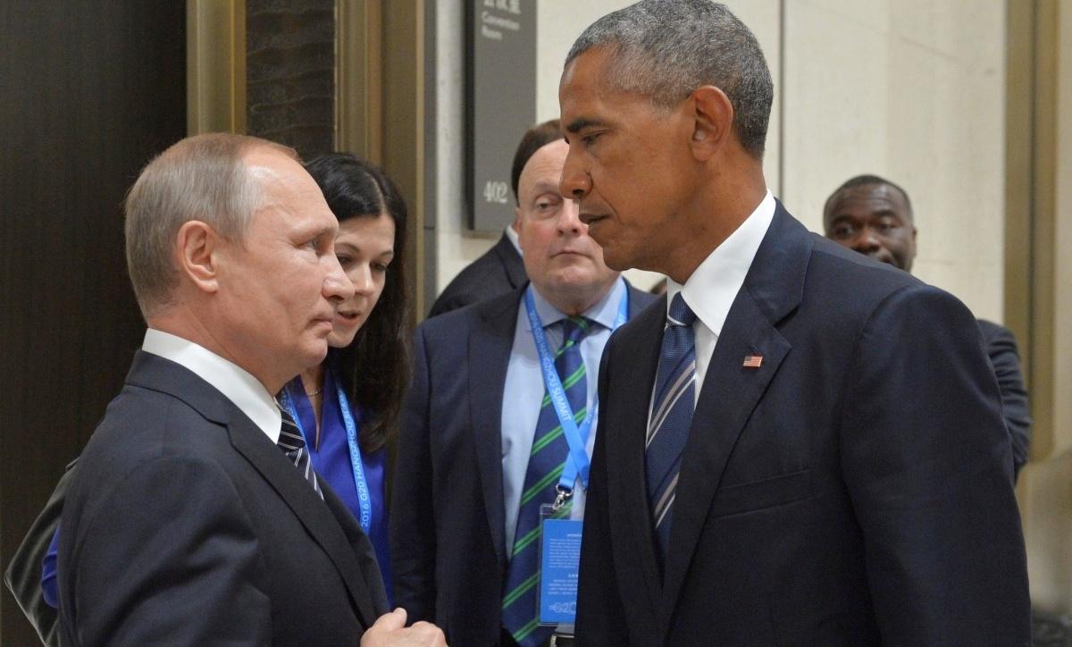 Путин иОбама обсудили ситуацию вСирии