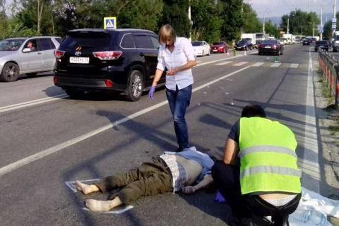 Русский оккупант на Шкода сбил насмерть крымского татарина