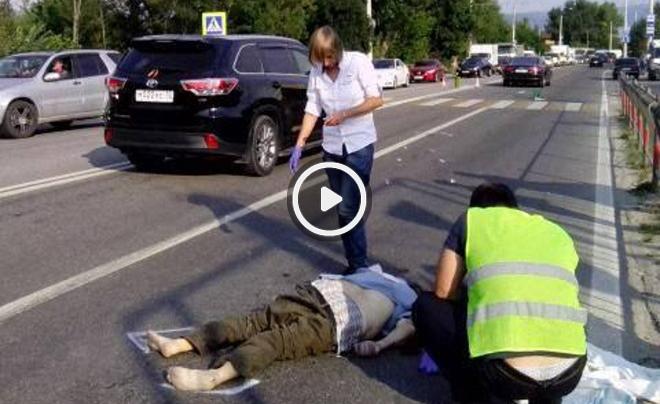 ВКрыму русский военный насмерть сбил местного жителя