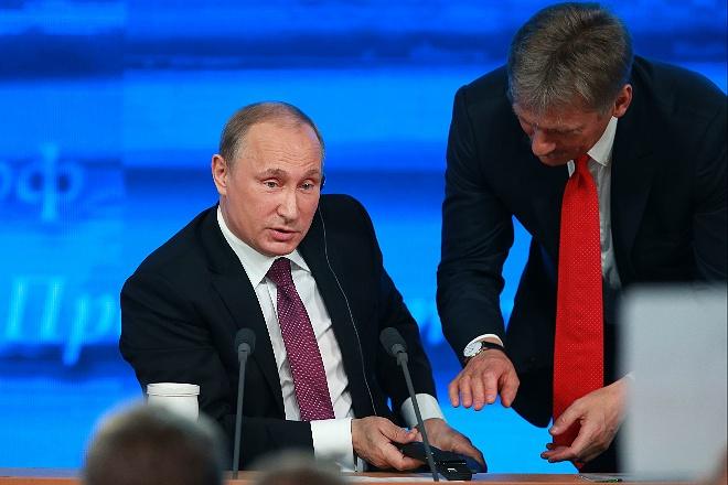 ВКремле невидят необходимости прямых переговоров сУкраиной поДонбассу