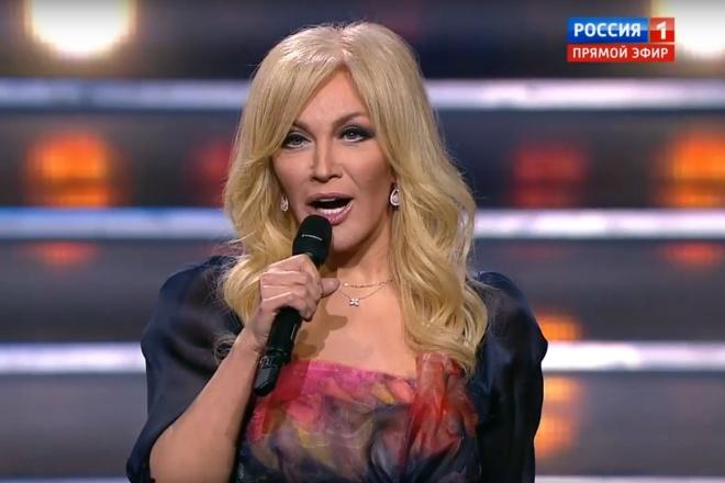 Известная украинская эстрадная певица поздравила вКремле русских копов